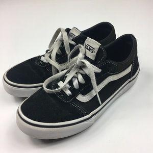 Youth Old Skool Lace up Vans Black Size 3Y unisex